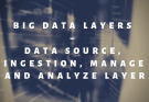 Big Data Layers – Data Source, Ingestion, Manage and Analyze Layer