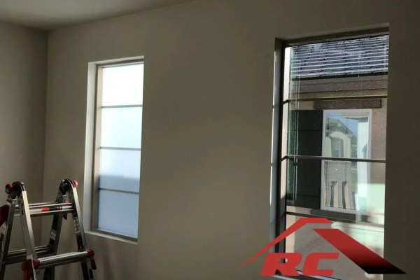 Frost window film is a great option to gain privacy in your home windows