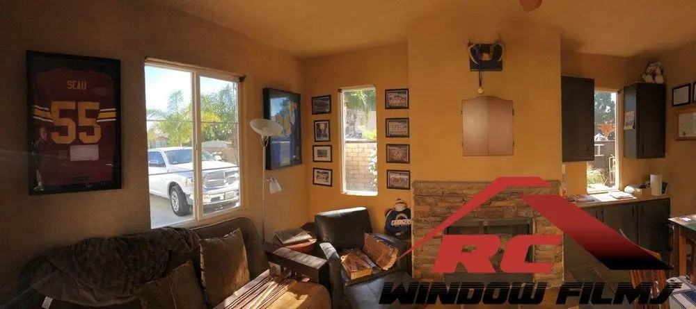 Home Window titnting Winchester with TrueVue 30 a dual reflective window tint for houses0010
