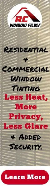 home window tinting banner rc window films