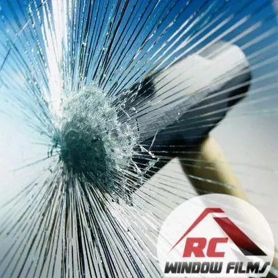 how security window film holds glass