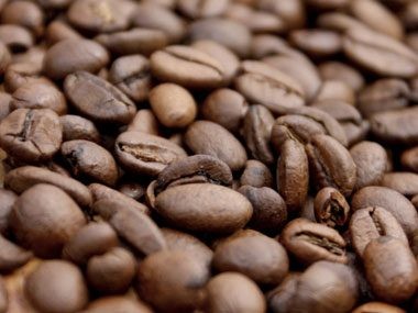 7. Most coffees are a blend of: