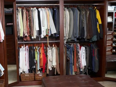 squeeze more out of everything, closet