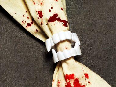 Vampire Napkin Rings