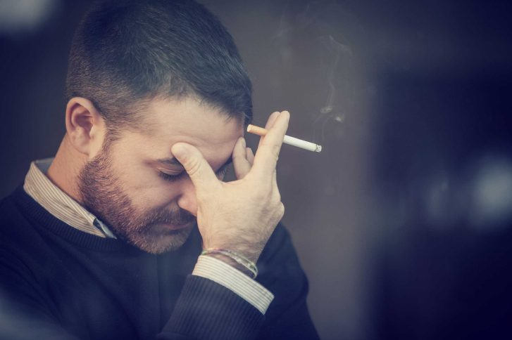 You still smoke