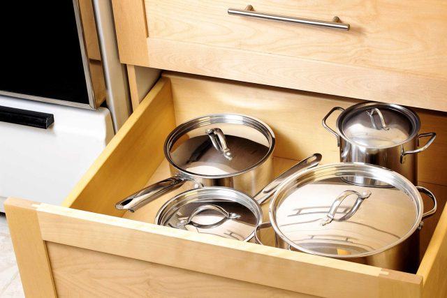 how to organize pots and pans reader