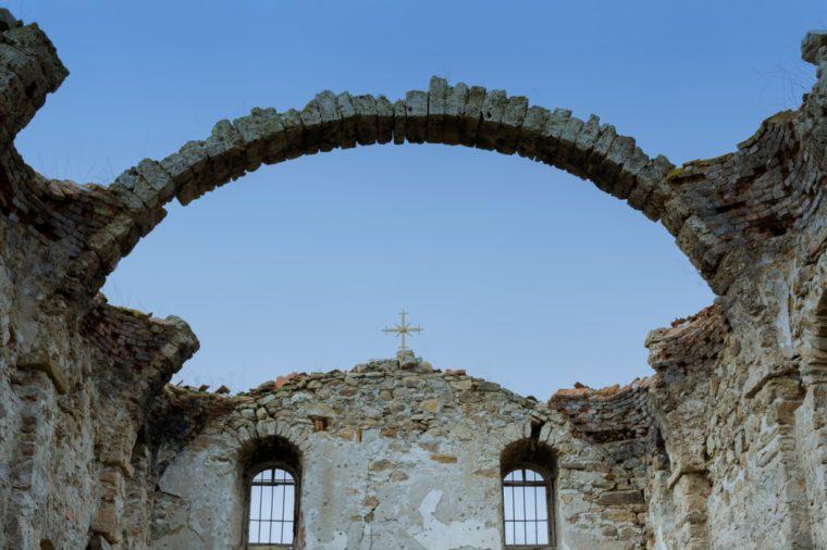 Zhrebchevo Dam_abandoned churches