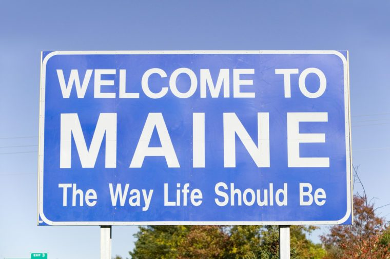 """Welcome to Maine, """"The Way Life Should Be"""""""