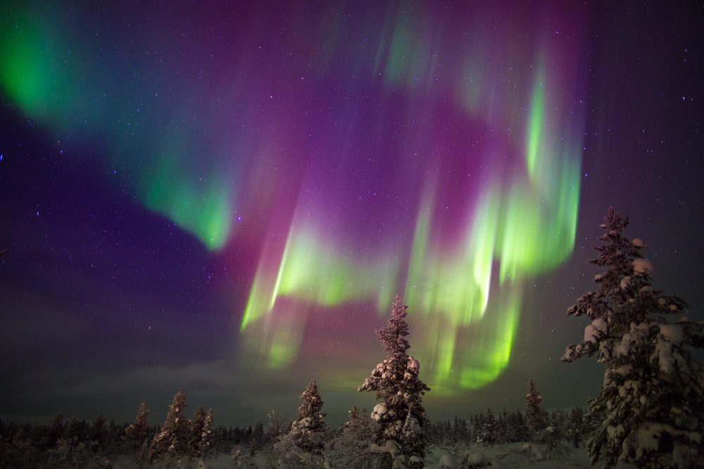 Best Conditions See Northern Lights