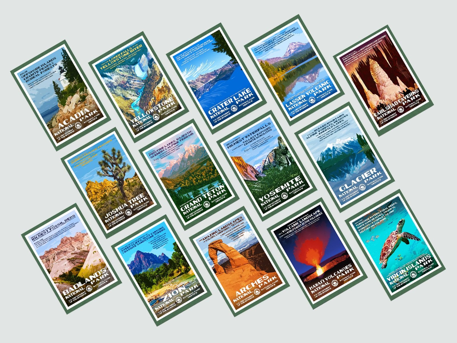 national park posters that will give