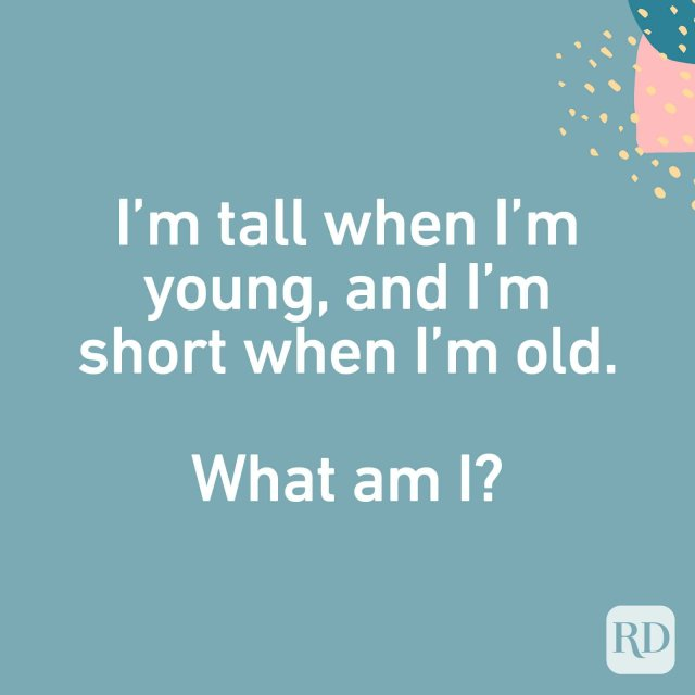 """What Am I?"""" Riddles (with Answers)  Readers Digest"""