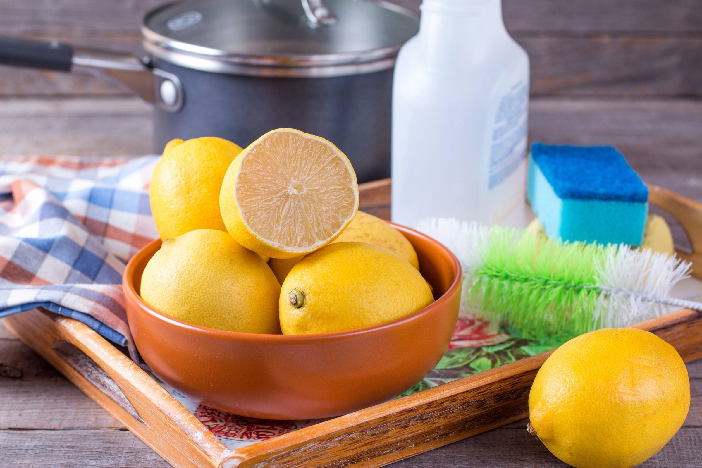 Scented Vinegar For Homemade Cleaners