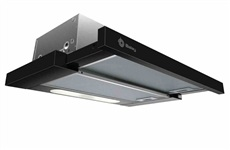 TELESCOPIC HOOD BLACK 3BT737N