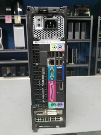 Dell Optiplex 980 Sff Desktop Computer I7 2 93 Ghz 750gb