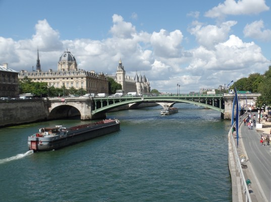 The Seine (River that runs through Paris)
