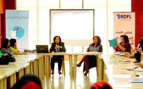 مؤتمر صحافي في إطار مشروع