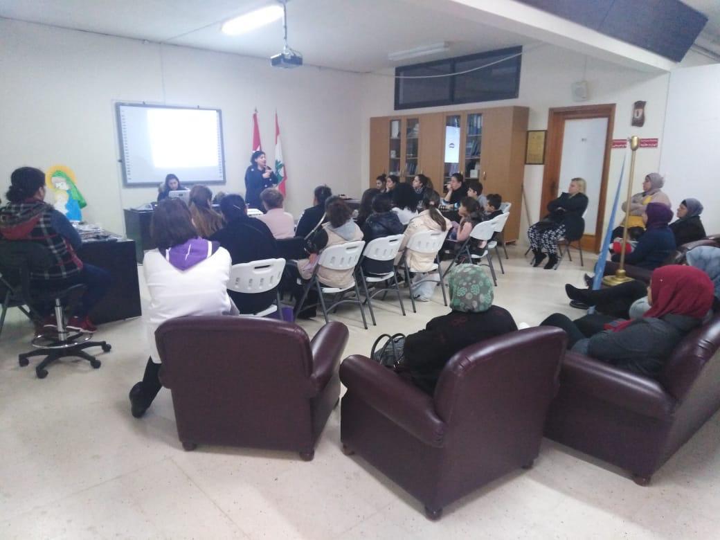 لقاء توعوي حول آلية تطبيق قانون حماية النساء وسائر أفراد الأسرة في زغرتا