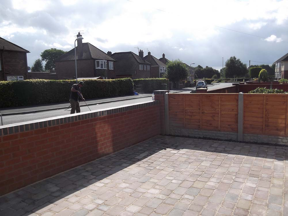 groundworks block paving driveway wrexham