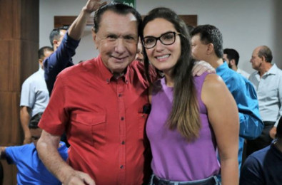 Carlos Bezerra e Jana�na Riva