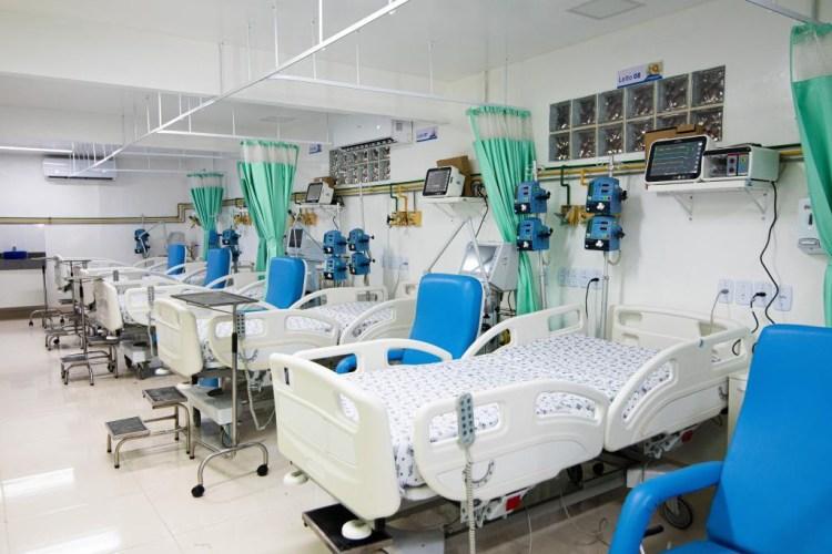 Leitos de UTI - Hospital Santa Casa - Covid-19
