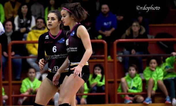 Jessica Faoro e Gloria Dal Farra