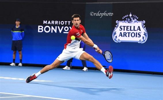 Novak Djokovic - Atp Cup 2020 Sydney - foto di Roberto Dell'Olivo