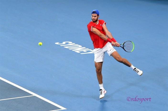 Karen Khachanov - ATP CUP 2020 Sydney - foto di Roberto Dell'Olivo