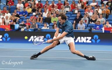 Danil Medvedev ATP CUP 2020 Sydney- foto di Roberto Dell'Olivo