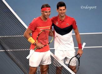 Nadal Djokovic Finale Atp Cup 2020 Sydney - foto di Roberto Dell'Olivo