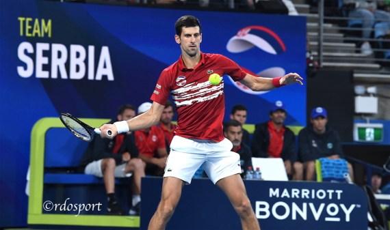 Novak Djokovic - Atp Cup 2020 - foto di Roberto Dell'Olivo