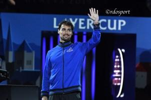 Fabio Fognini - Laver Cup Ginevra 2019 - foto di Roberto Dell'Olivo