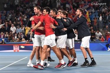 Team Serbia ATP CUP 2020 Sydney - foto di Roberto Dell'Olivo