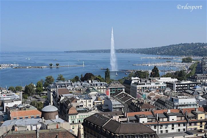 Il Jet d'eau del lago di Ginevra - Laver Cup 2019 foto di Roberto Dell'Olivo