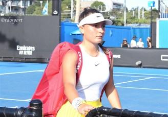 Lisa Pigato - Australian Open Juniores 2020 Melbourne - foto di Roberto Dell'Olivo