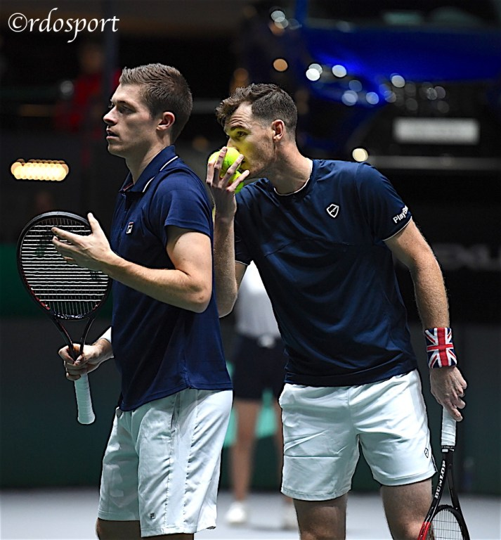 Jamie Murray e Neal Skupski - TEAM GB - Davis Cup Madrid 2019