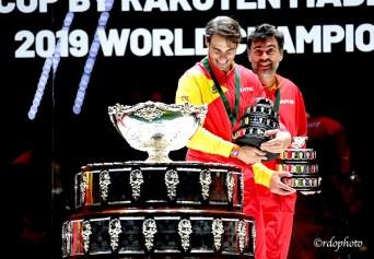 Rafael Nadal e Sergi Bruguera - Davis Cup Madrid 2019