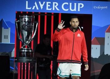 Nick Kyrgios - Laver Cup 2019 Ginevra - foto di Roberto Dell'Olivo