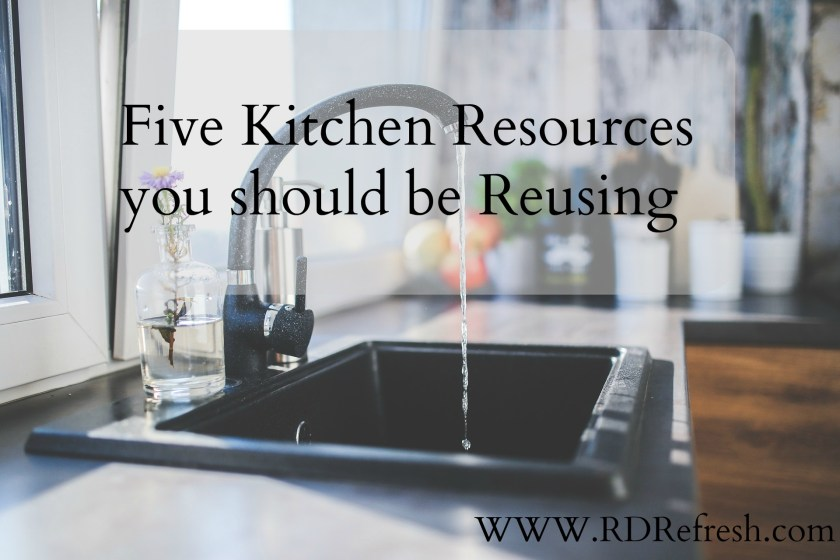 Five Kitchen Resources you should be Reusing