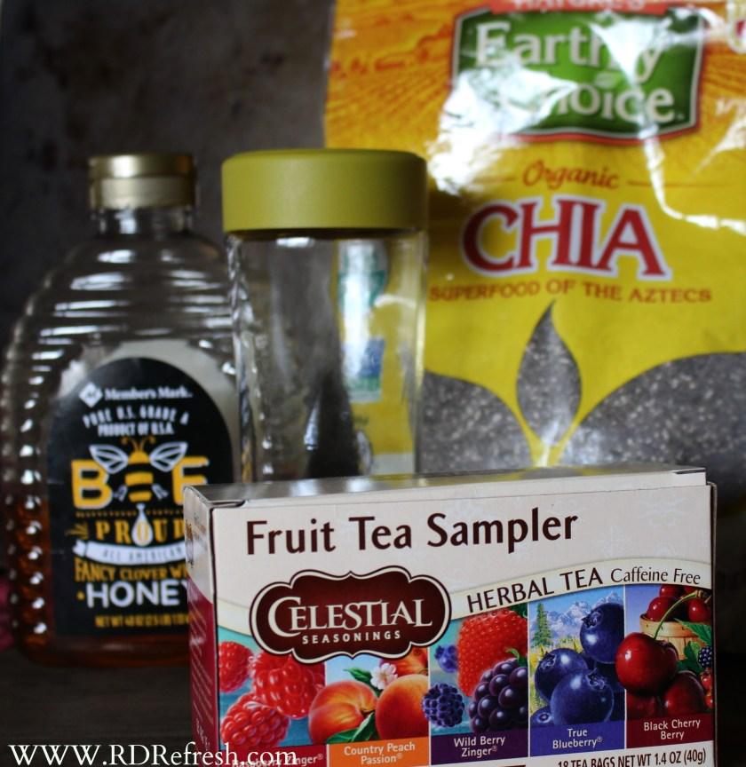 Chia Tea Beginnings