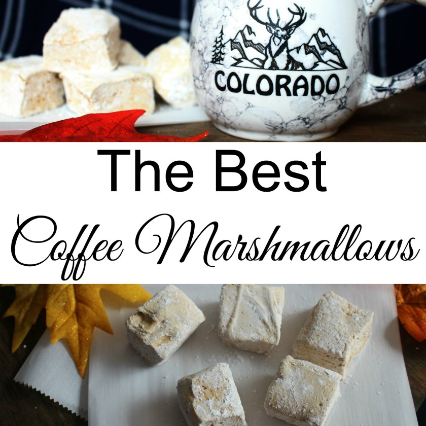THE BEST Coffee Marshmallows