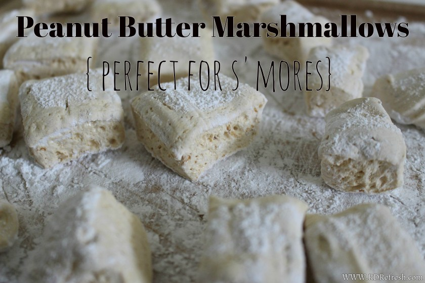 Peanut butter marshmallows title