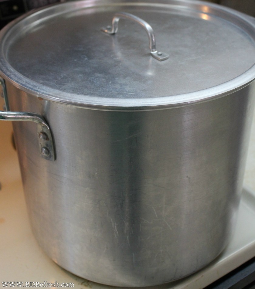 Stockpot for cooking tomatoes
