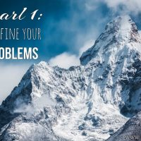 Pearl 1 -Redefine your problems