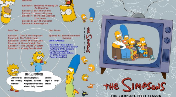 The Simpsons 1st Season Review | RDT World of Sport