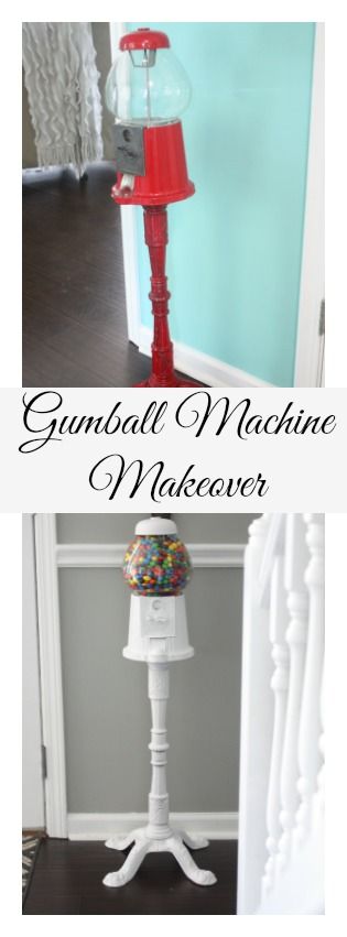 Gumball Machine Makeover