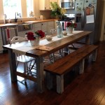 Shara at Chasing a Dream Shares her Farmhouse Kitchen Table for a Family of 2
