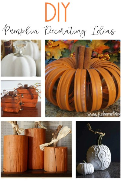 10 fun and unique DIY pumpkin decorating ideas