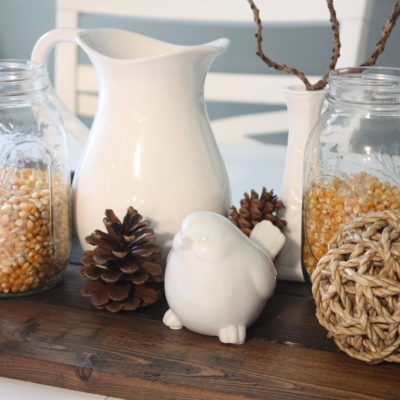 Fall Decorating with Corn