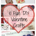 10 Fun DIY Valentine Crafts