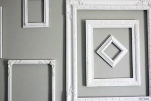 Thrifted Frames to Cohesive Gallery Wall